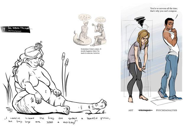 Kristine tries for the Animation Workshop! (mild NSFW)