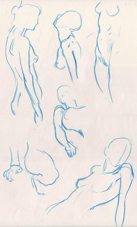 "Spartan Camp #154 - 50 gestures + Optional ""Head: 3 views"" Study"